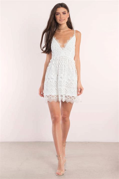 5 Pretty White Things To Wear From Around The World by Blue Skater Dress Lace Dress Skater Dress Pretty