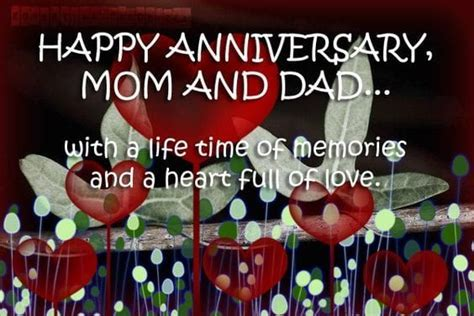 Happy Anniversary Mom and Dad, Parents Anniversary 2018