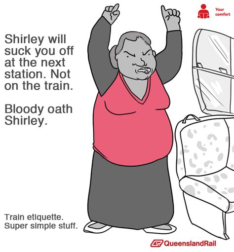 Queensland Rail Meme - queensland rail shirley queensland rail etiquette posters know your meme