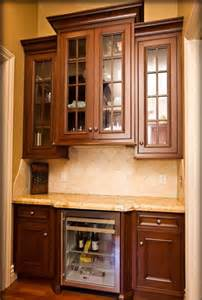 Wine Cooler For Kitchen Cabinets Wetbar Design With Wine Cooler By Bay Area Residential Contractor Traditional Kitchen San