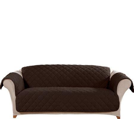 sure fit waterproof sofa cover sure fit sofa plush comfort waterproof furniture cover