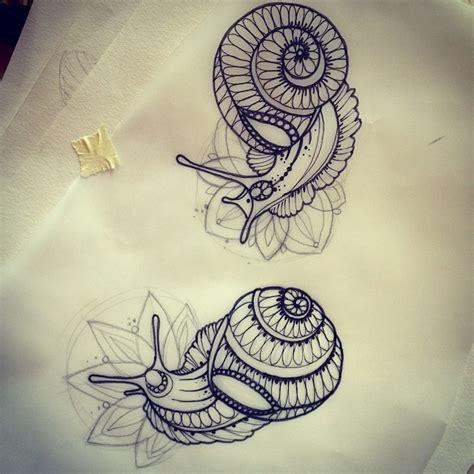 34 snail shell tattoos
