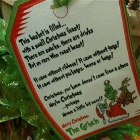 grinch gift december pinterest
