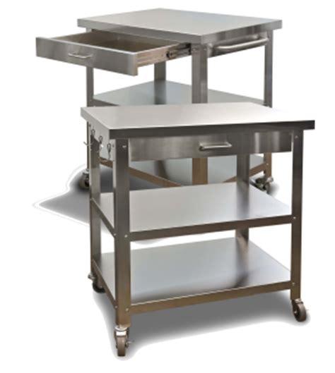 outdoor kitchen cart stainless steel carts for indoor or outdoor kitchens danver