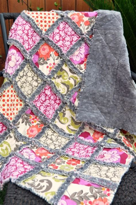 How Do You Do Patchwork - how to make a minky rag quilt the crafty stalker