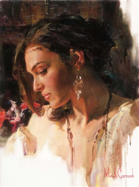 biography of painting artist michael inessa garmash hand signed and numbered limited