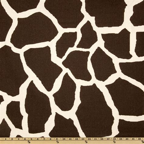 Giraffe Print Upholstery Fabric by Premier Prints Animal Print Fabric Discount Designer
