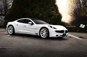 Electric Sports Car Karma Price Fisker Karma New Wheels From Sr Auto Car Tuning