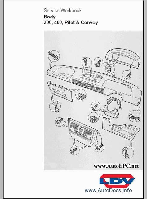 ldv maxus wiring diagram workshop manual images wiring