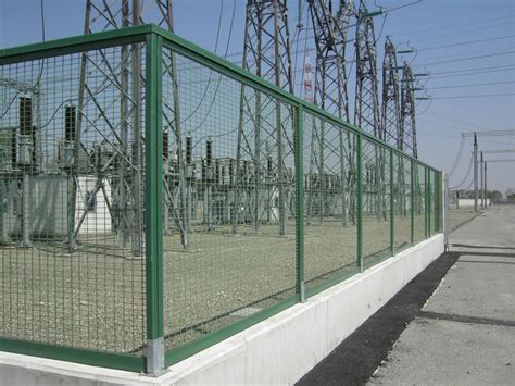 prefab fence sections modular glass fibre fence fibrefence prefabricated fence
