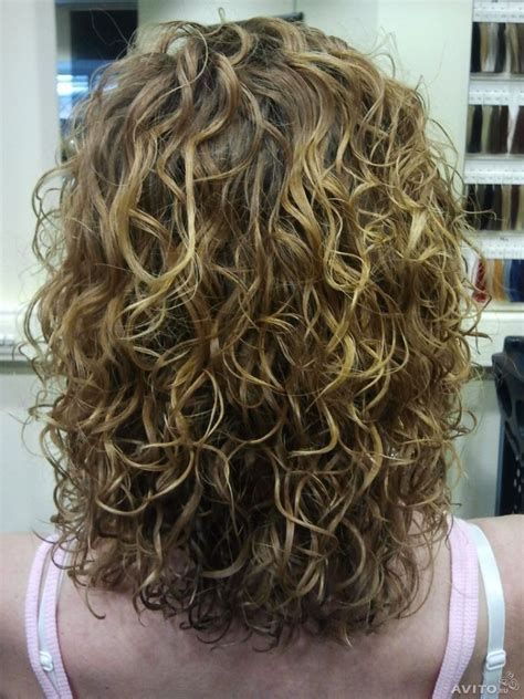 perm mid length hair on lady over 50 47 curated hair permed ideas by babypuss spirals loose