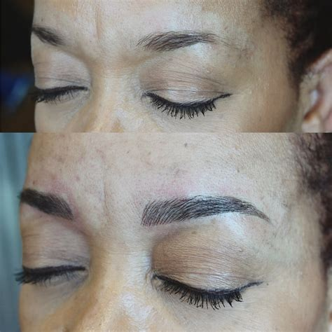 eyebrow tattoo houston before and after microblading eyebrow permanent