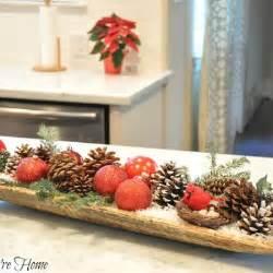 homemade christmas table decorations