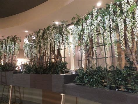tree rental  weddings  artificial plants faux trees