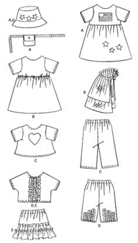 doll reader free patterns american clothes patterns on doll clothes