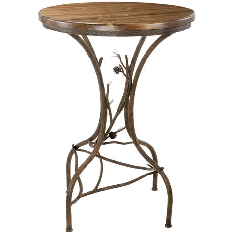 rustic bar height table rustic high top bar tables decorative table decoration