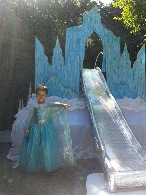 elsa decorations seriously the ultimate elsa castle frozen birthday