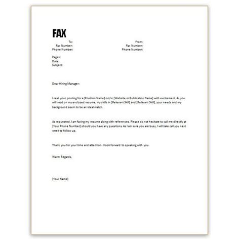 cover memo template 10 sle cover letter for resume and how to write one