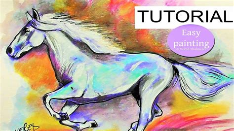 watercolor horse tutorial how to draw a horse with pencils watercolor polychromos