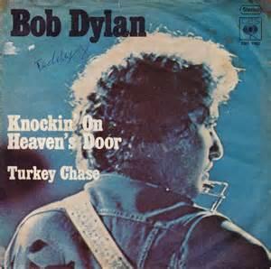 Original Knocking On Heavens Door by 45cat Bob Knockin On Heaven S Door Turkey Cbs Germany Cbs S 1762