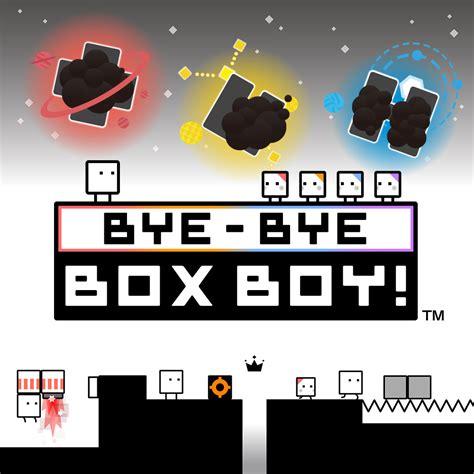 Bye Bye by Bye Bye Boxboy Nintendo 3ds Software