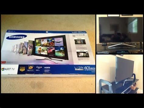 Tv Led Samsung F5500 unboxing samsung smart tv f5500 de 40 quot primeras impresiones