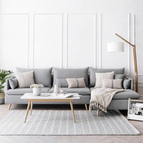 sofas salon sof 225 tapizado en tela dolmen kenay home