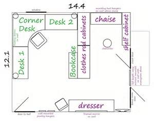 craft room floor plans the handcrafted life room planning home office craft space closet bedroom
