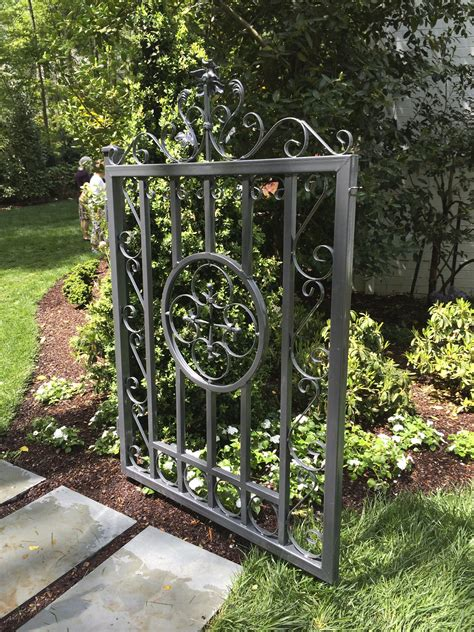 Iron Garden Gates by Garden Gates The Gracious Posse