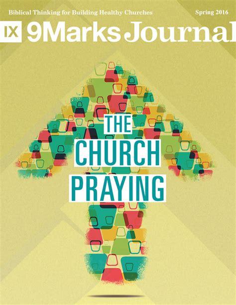 the church praying 9marks