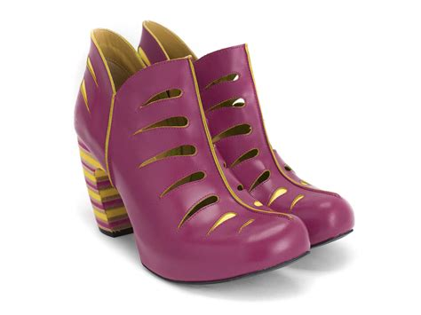 fluevog shoes fluevog shoes shop modotti pink yellow shoe with
