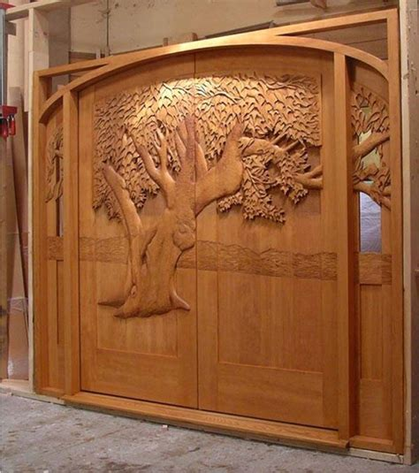 Carved Doors by Amazing Carved Wood Doors Home Design Garden