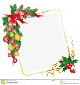 Business Xmas Letters christmas letter decorated with garland of mistletoe fir tree and