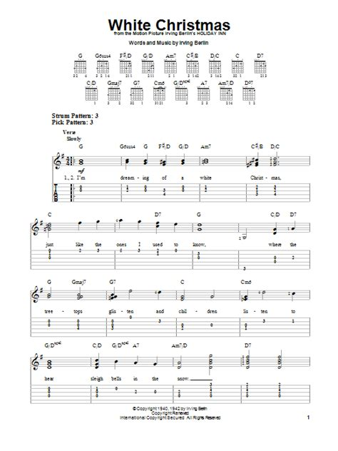 Christmas Guitar Chords Easy