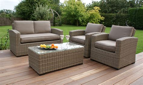 sofa garden antilles natural rattan 2 seater sofa set fishpools