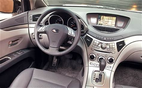 subaru tribeca 2016 interior 2006 subaru b9 tribeca road test review truck trend