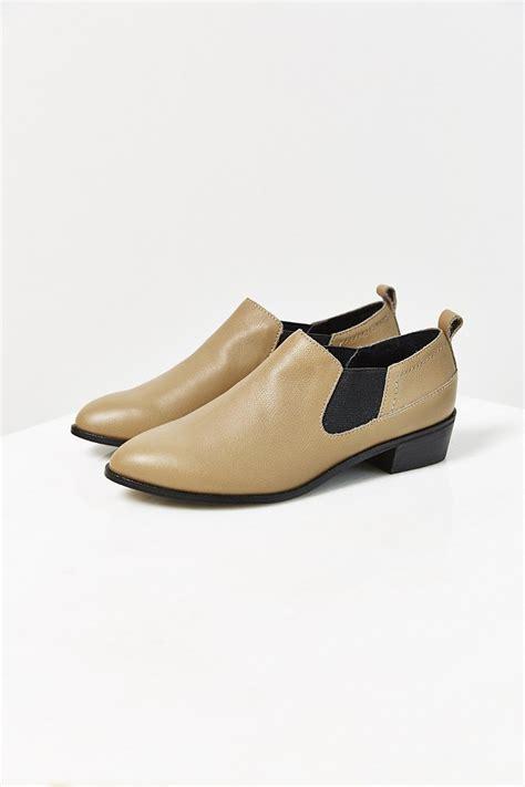 kelsi dagger shoes lyst kelsi dagger veronika western shoe in brown