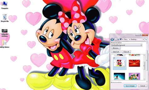 theme line free mickey mouse mickey mouse windows 7 theme download