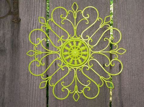 lime green wall decor metal wall decor lime green painted wall art patio
