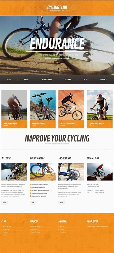 sporty free wordpress sports theme from template express 50 motivating sport wordpress themes web template