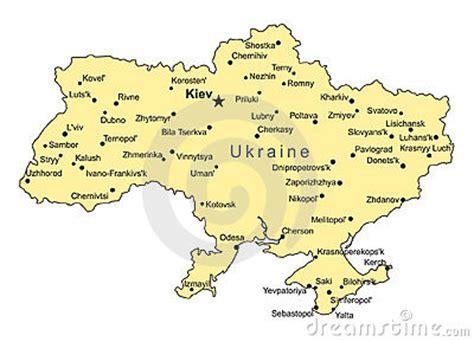 ukraine map vector ukraine vector map stock image image 7080241