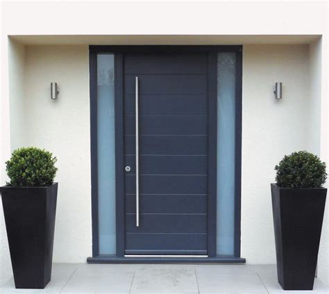Contemporary Front Doors Spacefold 187 Timber Entrance Doors