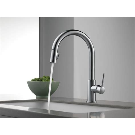 touch sensitive kitchen faucet awesome delta touch sensitive faucet 100 images large