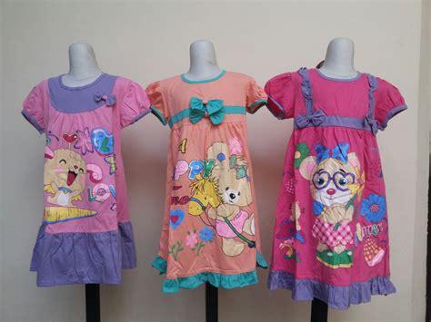 Grosir Dress Anak Perempuan 1 sentra grosir dress karakter anak perempuan murah