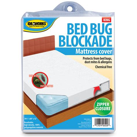 bed bug mattress cover bockade zipper dust mites allergens breathable healthy ebay