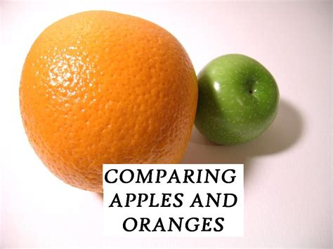 Comparing Apples To Oranges by Idiom Comparing Apples To Oranges Course Malta