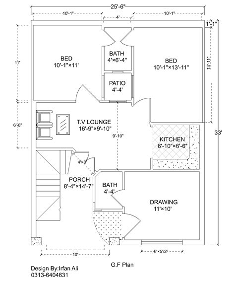 3 Marla House Design Story 3 Marla House Plan 25 6 Quot 215 33
