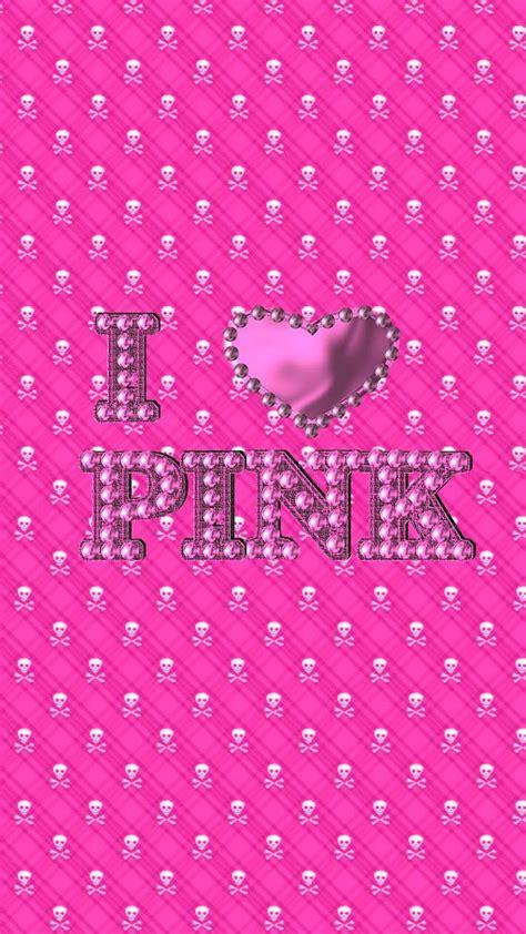 blingin android skull wallies pink pinterest