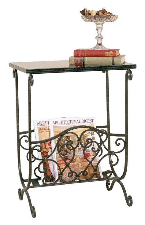 magazine rack with table top magazine rack with table top by passport accent in