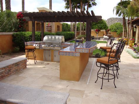 Backyard Kitchen Design Ideas Arizona Outdoor Kitchens